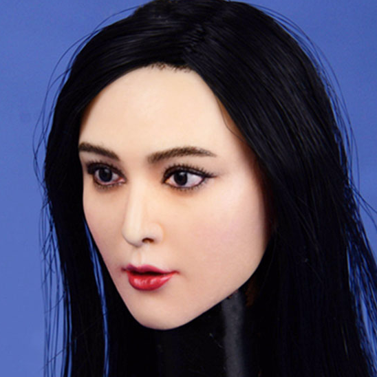 Female Head Carved (Doll) 1/6 DL0566