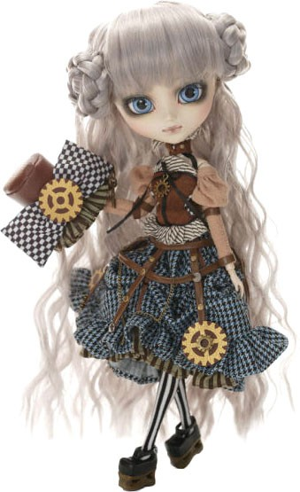 Фотография большая Кукла P-152 Pullip Mad Hatter in Steampunk World из аниме Alice in Wonderland / Алиса в Стране чудес ***