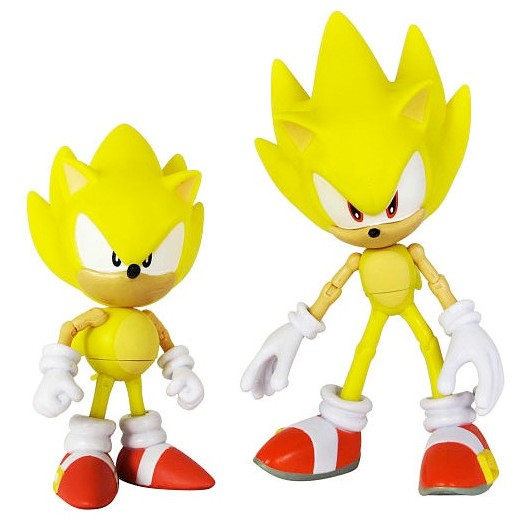 Фигурки Super Sonic Through Time