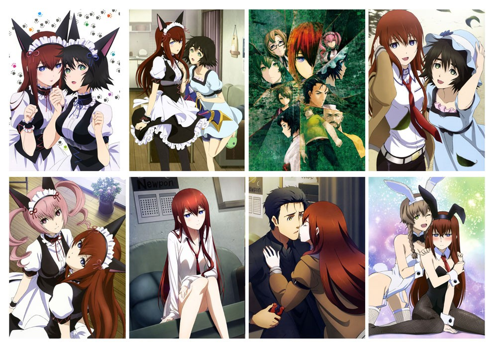 Наклейки Steins;Gate No.1