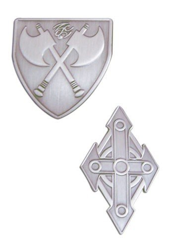 Фотография большая Набор значков MAR: Pins - Crossguard & Ruberia (Set of 2)  GE7419 из аниме и манги MAR / MAR-Heaven / Marchen Awakens Romance / Небеса МАР