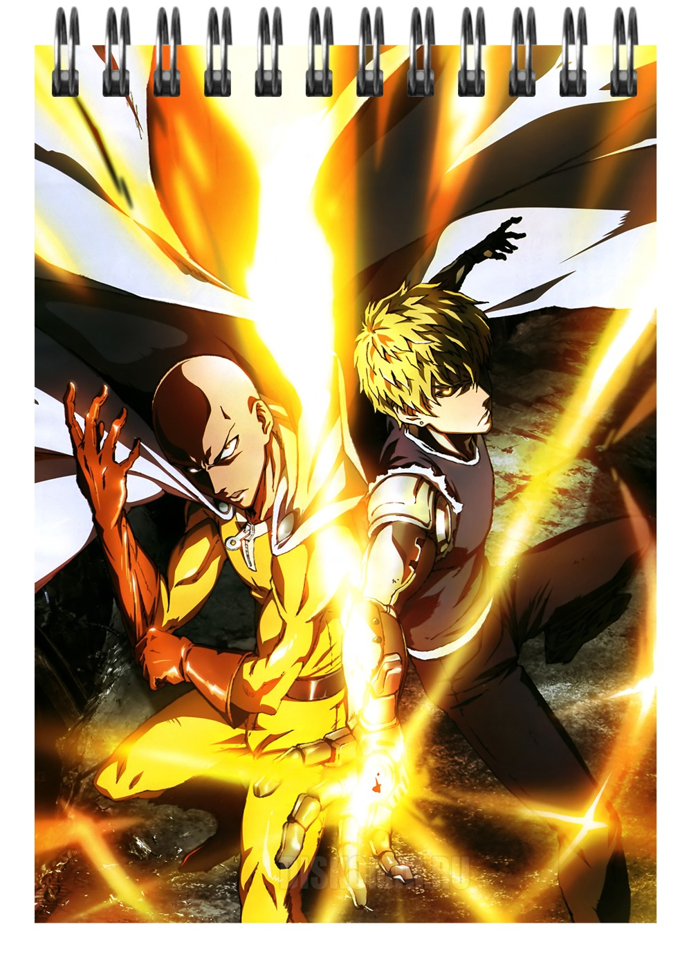 Блокнот в клетку A6 Onepunch-Man