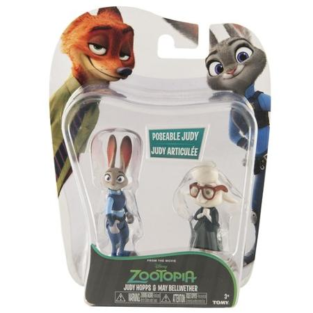 Фигурки Зверополис Zootopia Tomy Judy Hopps and May Bellwether - Джуди Хопс и Мисс Барашкис
