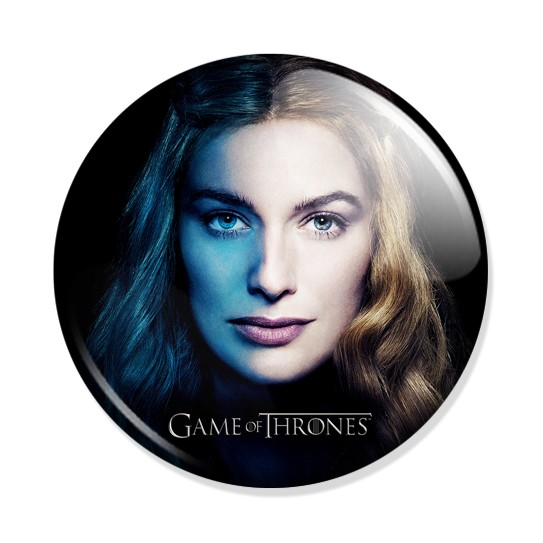 Фотография большая Значок Game of Thrones - Cersei Lannister из аниме и манги Game of Thrones / Игра престолов