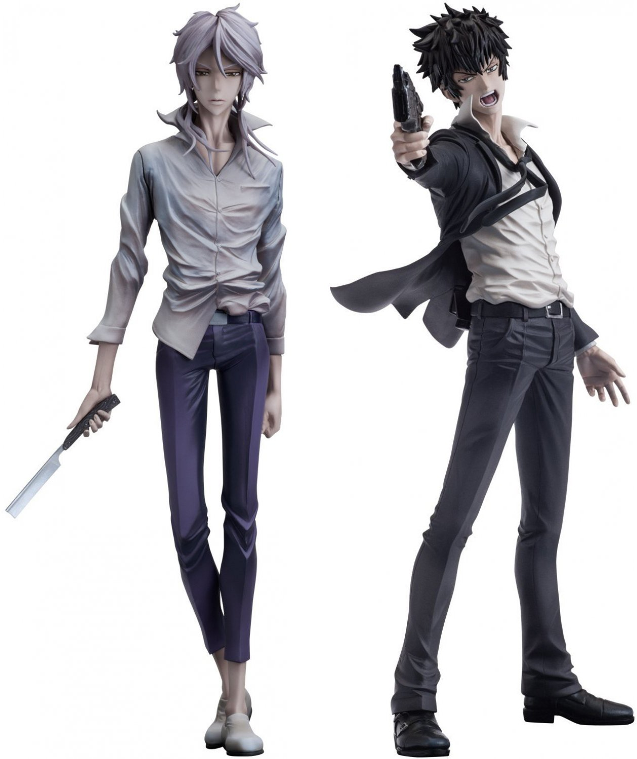 Фигурки Psycho-Pass - Shougo Makishima & Shinya Kougami ***