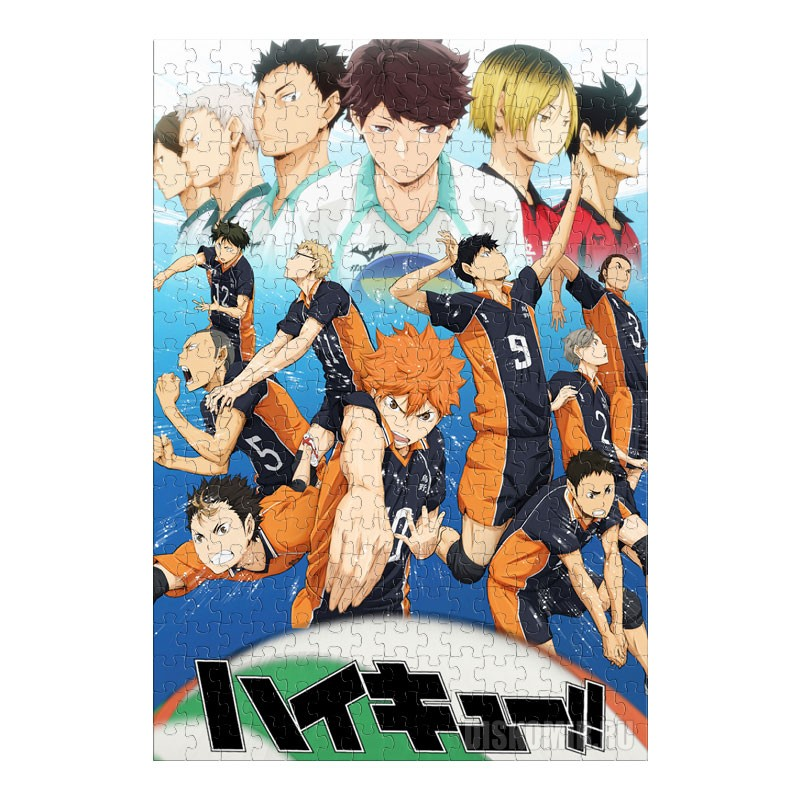 Пазл Haikyuu!! Shousha to Haisha (размер A3, 252 детали)