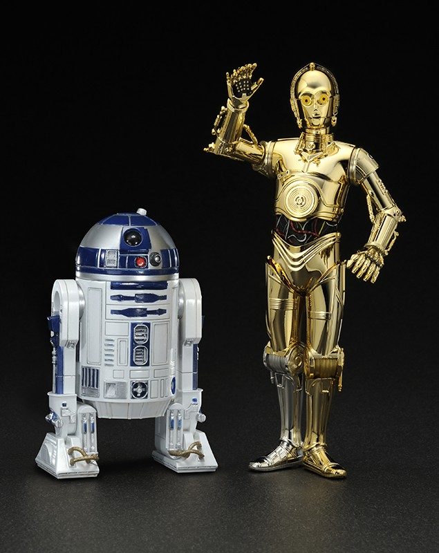 Star Wars - R2-D2 & C-3PO 1/10 Easy Assembly Kit