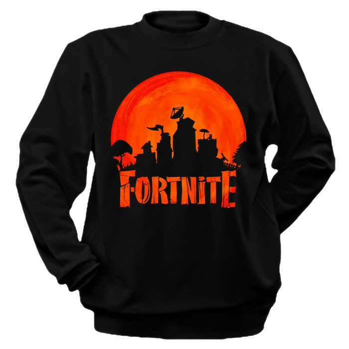 Фотография большая Толстовка Fortnite Logo из аниме и манги Fortnite / Fortnite: Save the World / Fortnite Battle Royale / Фортнайт ***