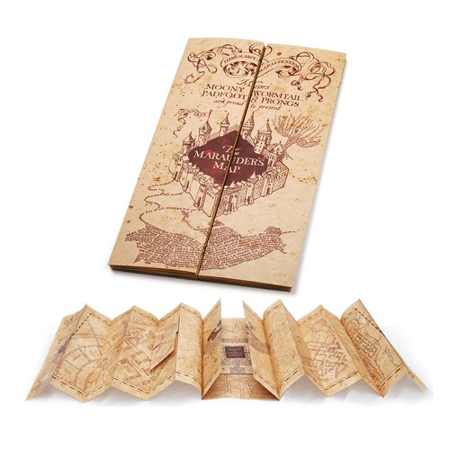 Фотография большая Harry Potter Marauder's Map Replica NBHP7888 из аниме и манги Harry Potter / Гарри Поттер
