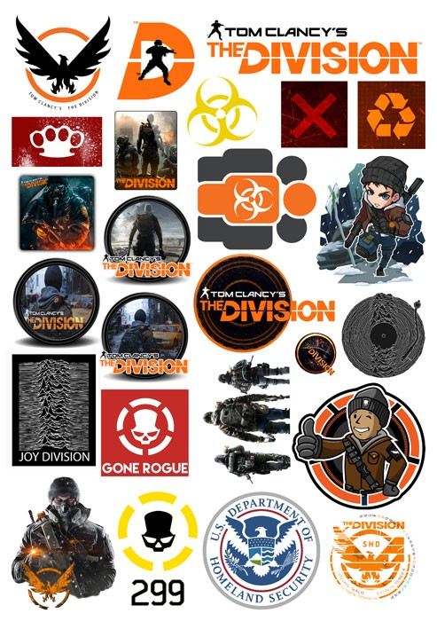Наклейки Tom Clancy's The Division No.11