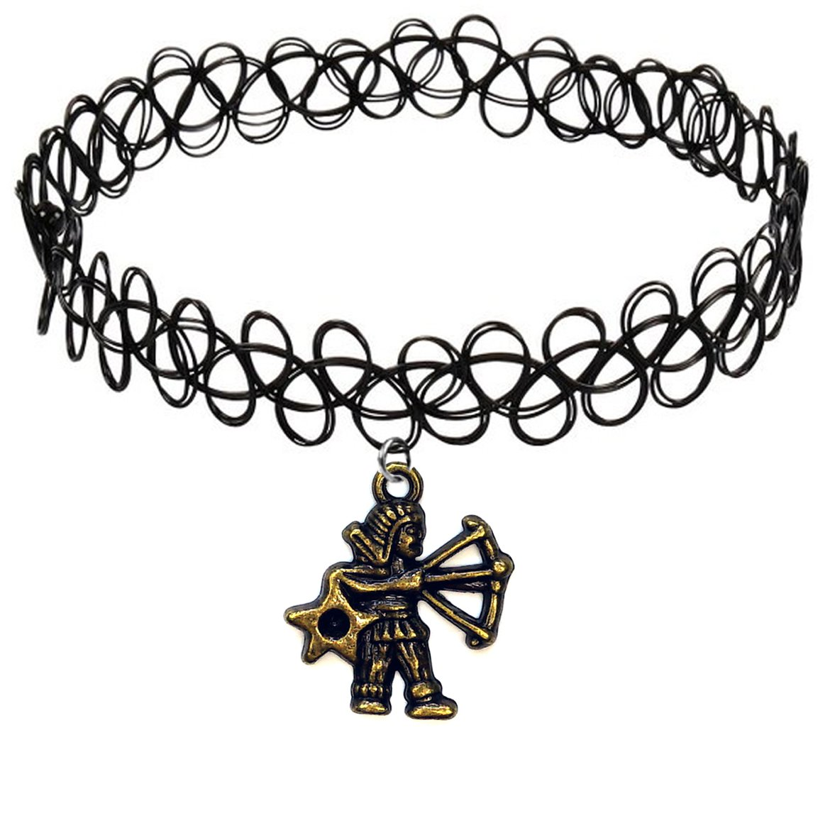 Фотография большая Тату-чокер Tattoo Choker Знаки Зодиака - Стрелец из аниме и манги Знаки зодиака