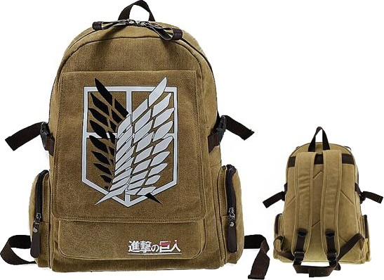 Рюкзак Shingeki no Kyojin / Attack on Titan - Survey Corps Brown