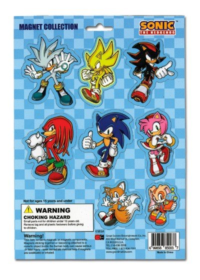 Магниты Magnet: Sonic the Hedgehog - Group Collection GE85003