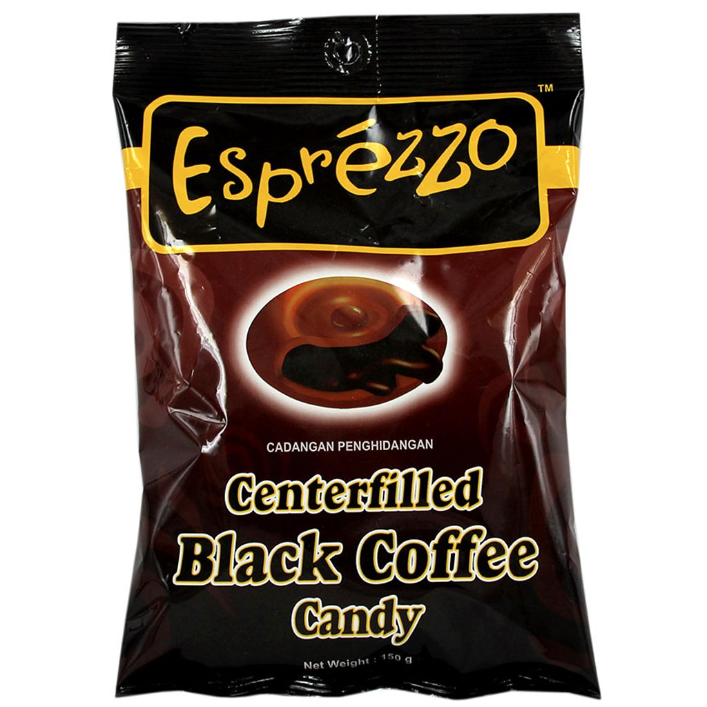 Леденцы Esprezzo Black Coffee Candy150гр
