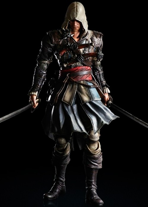 ASSASSIN'S CREED IV Black Flag Play Arts Kai Edward