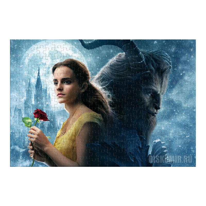 Пазл Beauty and the Beast (размер A3, 252 детали)