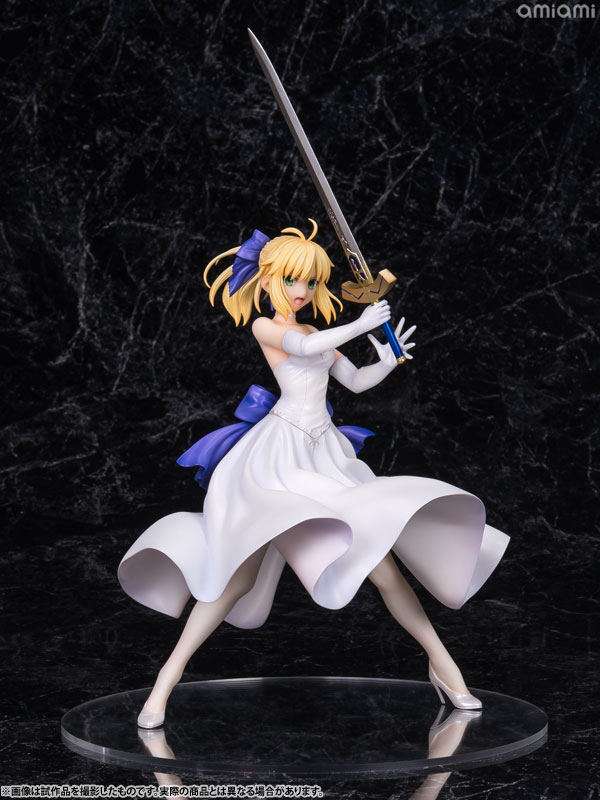 Фигурка Fate/stay night - Saber White Dress Ver. 1/8