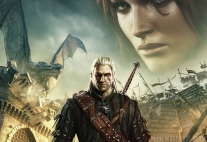 Плакат бумажный The Witcher 2: Assassins of Kings Geralt of Rivia and Triss Merigold