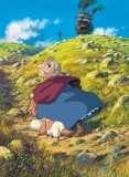 Плакат бумажный Howl's Moving Castle Turnip Head, Heen and Sophie