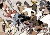 Плакат бумажный Bungou Stray Dogs - Detective Agency