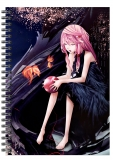 Блокнот в клетку A5 Guilty Crown - Inori Yuzuriha