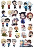 Наклейки Yuri!!! on Ice Chibi No.3