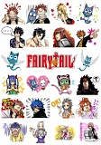 Наклейки Fairy Tail No.1