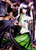Плакат бумажный High School of the Dead - Saeko Busujima
