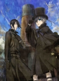Плакат бумажный Kuroshitsuji Movie: Book of the Atlantic Ciel Phantomhive, Sebastian Michaelis
