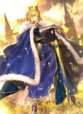 Плакат бумажный Fate/stay night Saber King of Knights