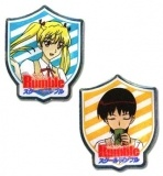 Набор значков (2 шт.) / Pins: School Rumble - Eri and Akira (Set of 2) GE7456