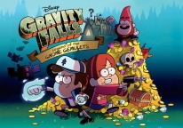 Плакат бумажный Gravity Falls Legend of the Gnome Gemulets
