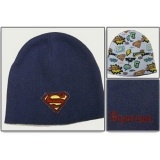 Шапка Beanie: Superman - Blue w/ Emblem (Reversable)