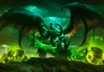 Плакат бумажный World of Warcraft Illidan Stormrage