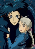 Плакат бумажный Howl's Moving Castle Sophie and Howl