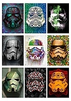 Наклейки Masked Stormtroopers No.4
