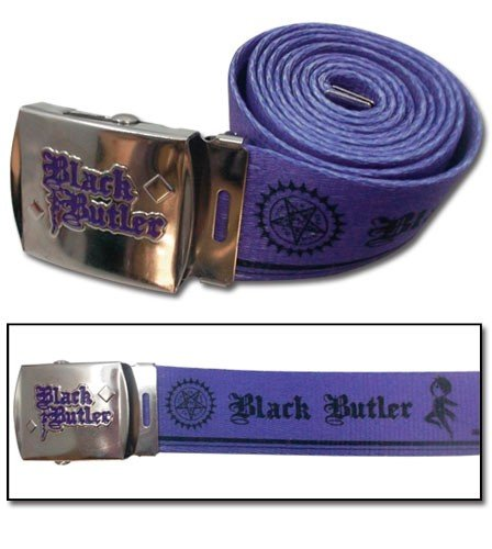 Фотография большая Ремень Belt: Black Butler - Sebastian Purple Fabric GE14585 из аниме и манги Kuroshitsuji / Black Butler / Темный дворецкий / Демон-дворецкий