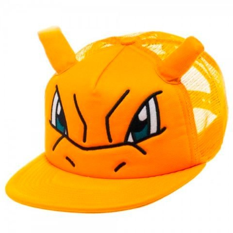 Фотография большая Бейсболка Cap: Pokemon - Charizard Big Face Trucker BA1B14POK из аниме и манги Pokemon / Покемон