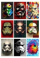 Наклейки Masked Stormtroopers No.5