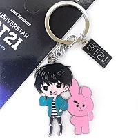 Брелок K-POP BTS BT21 Star - Kookie Cooky