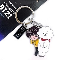 Брелок K-POP BTS BT21 Star - Jin Rj