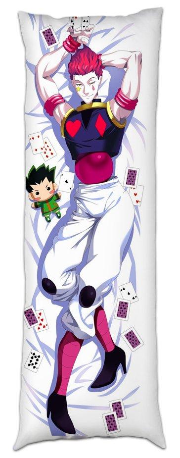 Дакимакура обнимашка с подушкой Hunter x Hunter - Hisoka Morow. Купить в интернет магазине Diskomir.ru