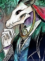 Плакат бумажный Mahoutsukai no Yome Elias Ainsworth