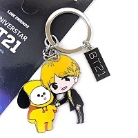 Брелок K-POP BTS BT21 Star - Jimin Chimmy