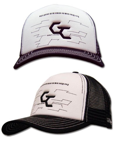 Фотография большая Бейсболка Cap: Guilty Crown - CG Logo Trucker GE32028 из аниме и манги Guilty Crown / Корона грешника / Корона вины / Корона греха