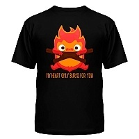 Футболка Howl`s Moving Castle - Calcifer