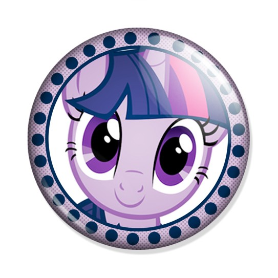 Значок My Little Pony Twilight Sparkle face. Купить в ...