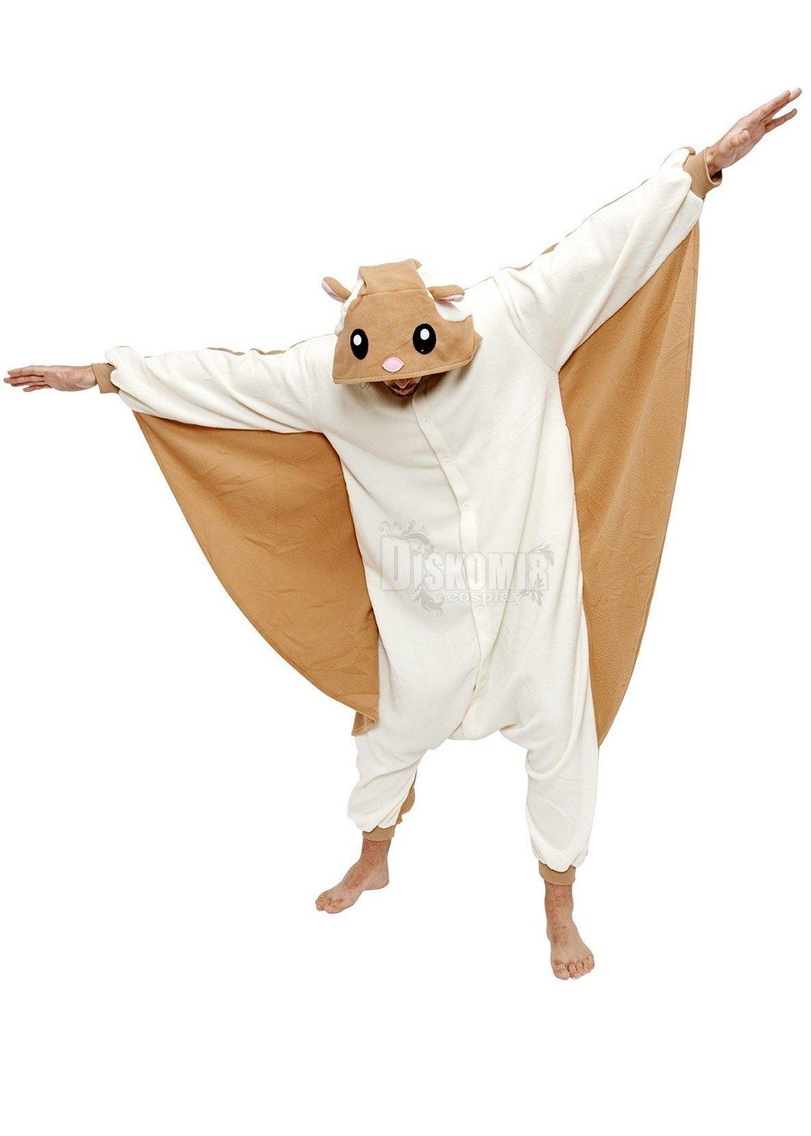 Кигуруми Белка-летяга   Kigurumi Flying Squirrel. Купить недорого за ... c7f5fc307f697