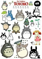 Наклейки My Neighbor Totoro No.3