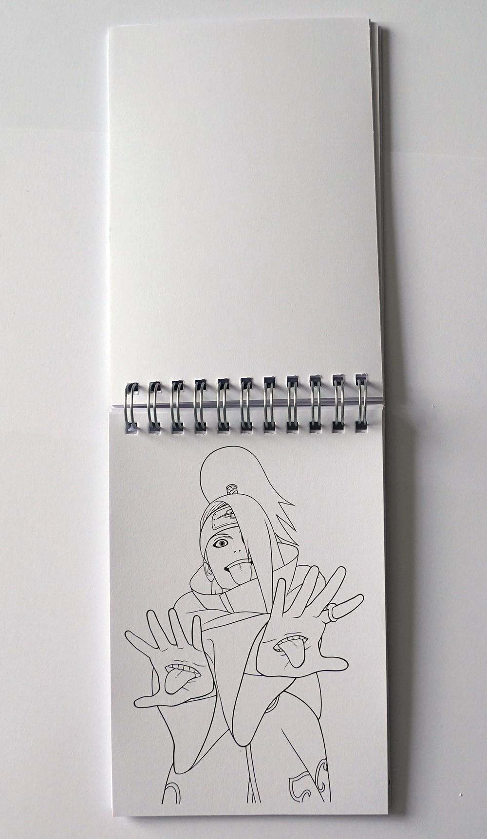Раскраска Наруто No.2. Купить в интернет магазине Diskomir.ru